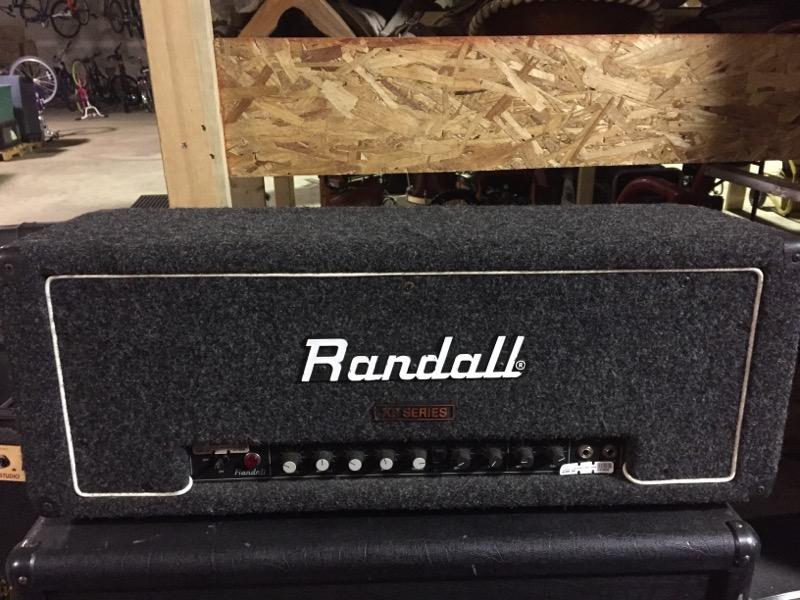 RANDALL RG100ES AMP HEAD