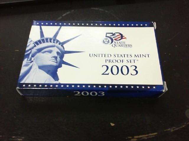 UNITED STATES Proof Set 2003 PROOF SET