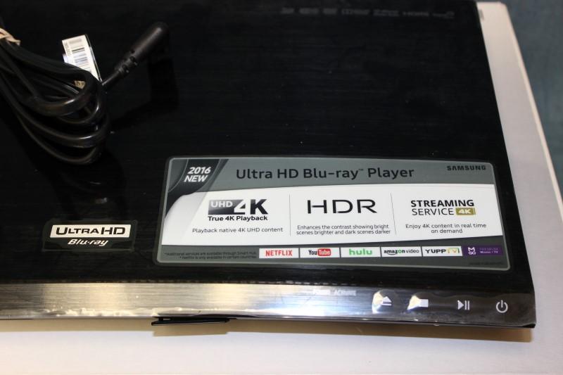 Samsung Ultra HD Wi-Fi Blu-ray Player - UBD-K8500