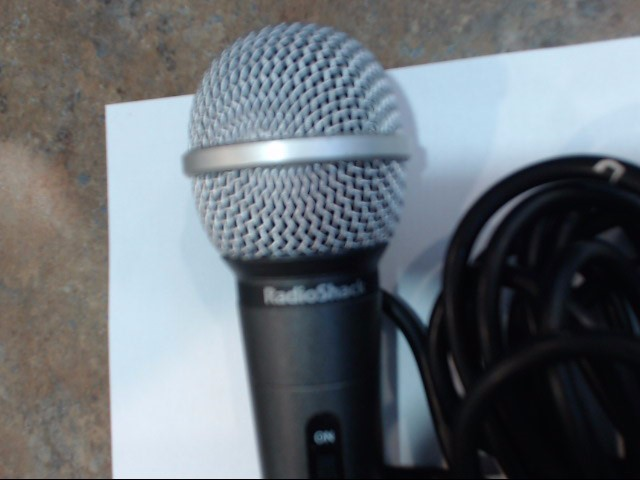 RADIO SHACK Microphone 3303043