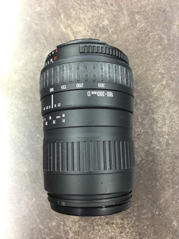 SIGMA Lens/Filter 100-300MM F/4.5-6.7