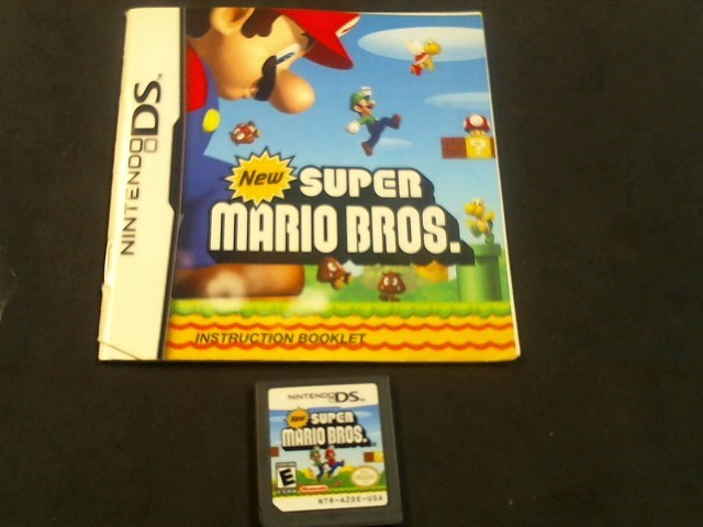 NINTENDO Nintendo DS Game DS SUPER MARIO BROS GAME (I05012384)