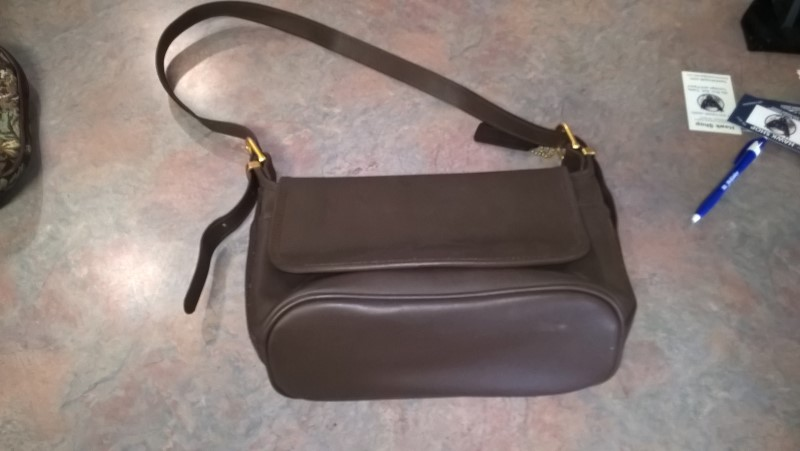 NONE LEATHER PURSE