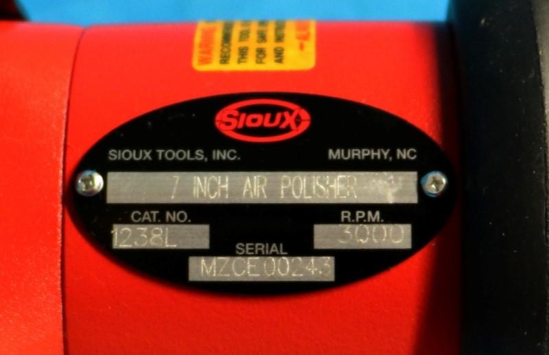 SIOUX TOOL Port Polisher Air 1238L