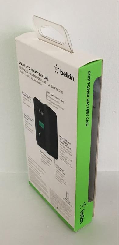 BELKIN GRIP POWER BATTERY CASE IPHONE 5/5S