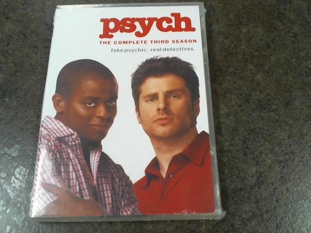 PSYCH SEASON 3 NEW IN BOX!