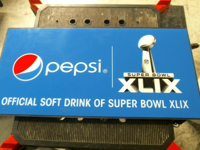 PEPSI Sign SUPER BOWL SIGN