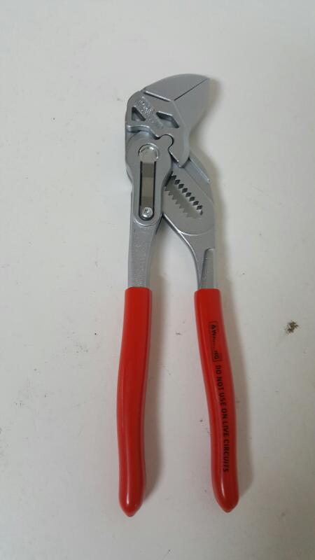 "Knipex 8603180 7-1/4"" Adjustable Pliers Wrench"