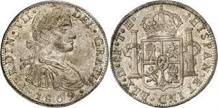 MEXICO SILVER COIN REALES 1809