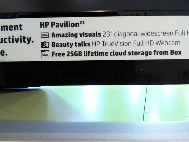 HEWLETT PACKARD PC Desktop PAVILION 23