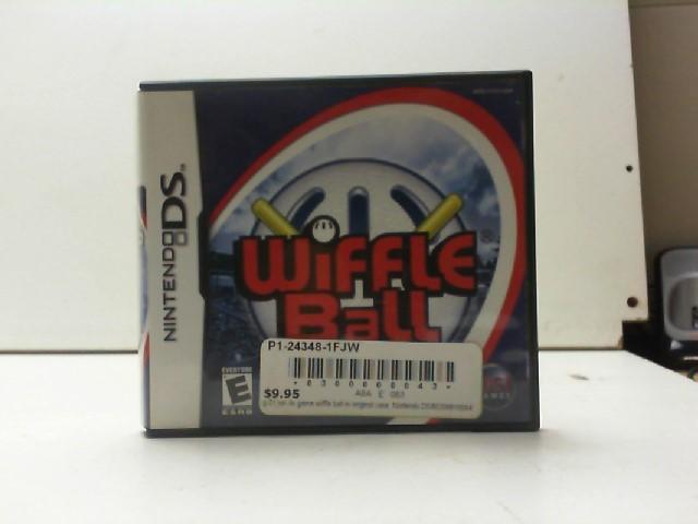 NINTENDO Nintendo DS Game WIFFLE BALL