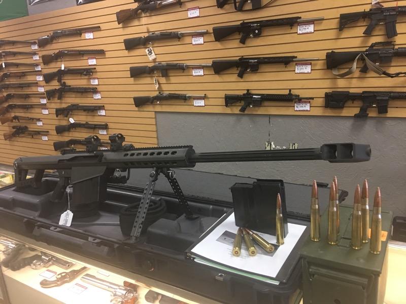 BARRETT FIREARMS Rifle M82A1