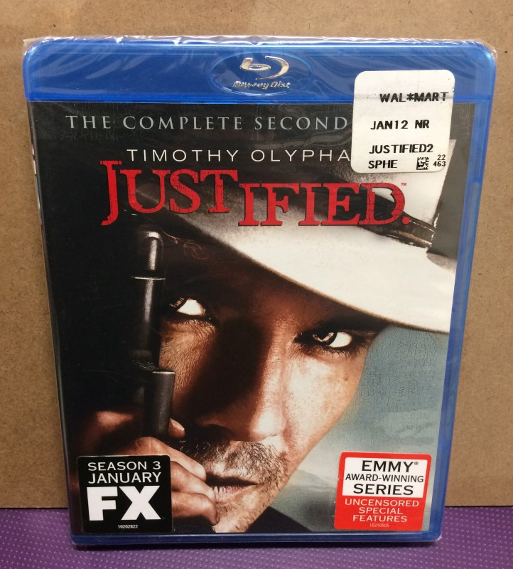 BLU-RAY BOX SET JUSTIFIED THE COMPLETE SECOND SEASON