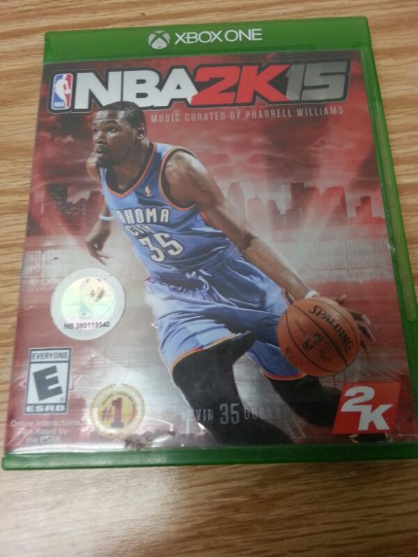 MICROSOFT Microsoft XBOX One Game NBA 2K15 - XBOX ONE