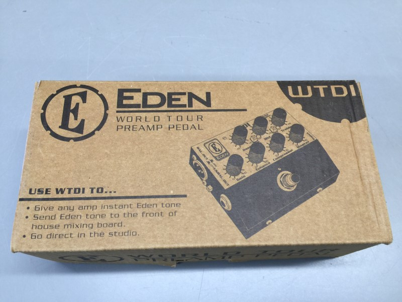 EDEN WTDI World Tour DI Preamp Pedal