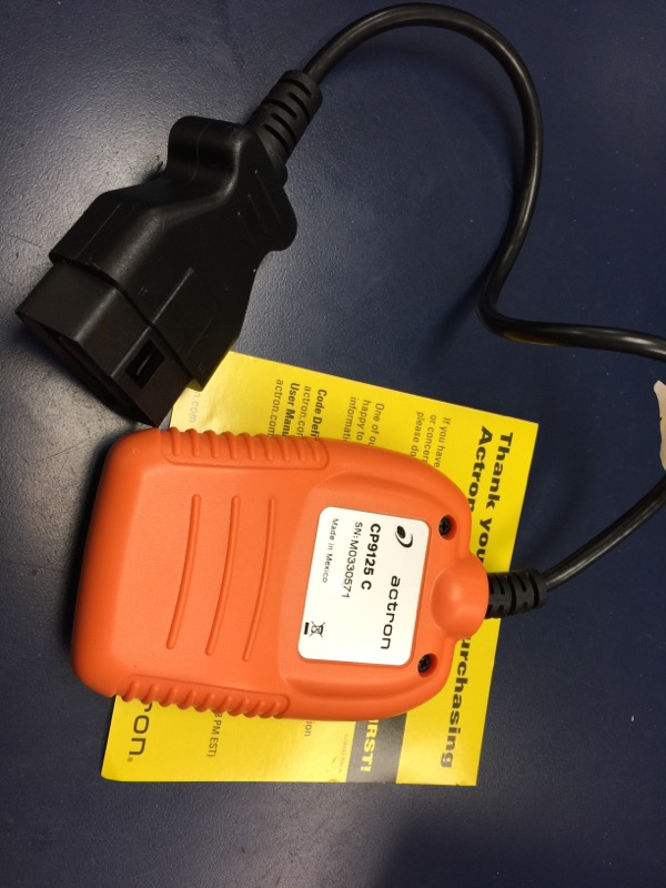 ACTRON CP9125  OBD II POCKET SCAN