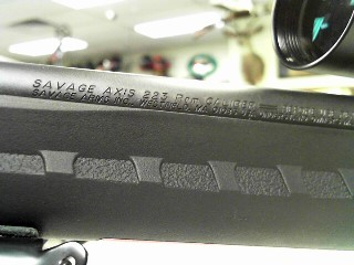 SAVAGE ARMS Rifle AXIS