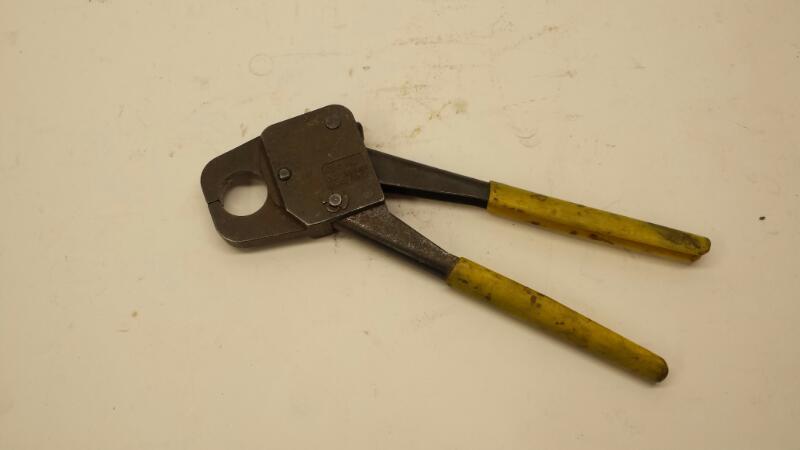 """MIL 3 INC Crimping Tool 1"""" Crimper"""