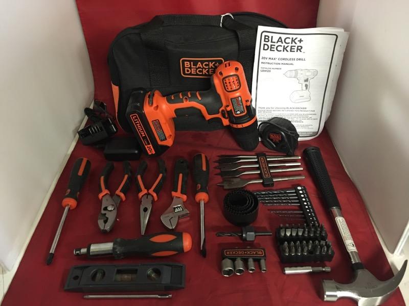 BLACK&DECKER Cordless Drill LDX120PK