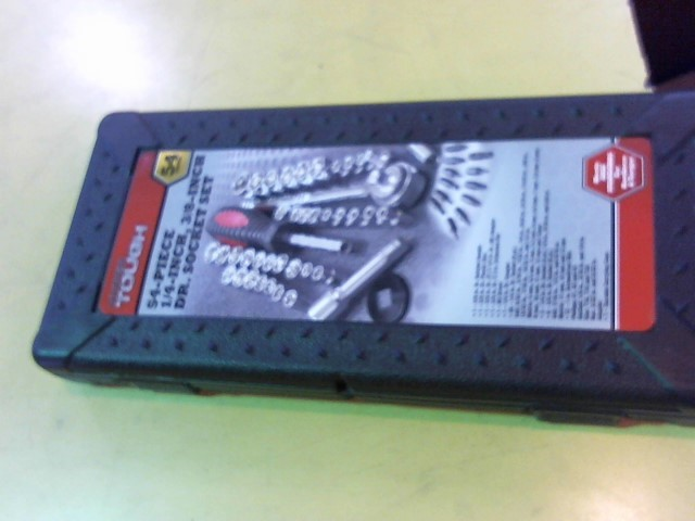 HYPER TOUGH Sockets/Ratchet 54 PC SET