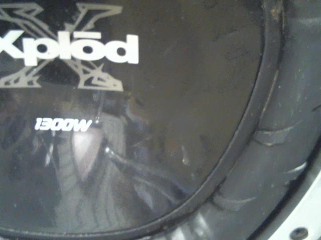 """SONY Car Speakers/Speaker System EXPLODE 12"""" 1300 WATT SUBWOOFER IN BOX"""