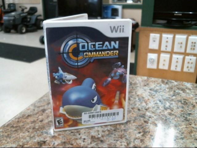 NINTENDO Nintendo Wii Game OCEAN COMMANDER
