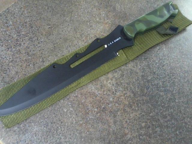 BUD K Combat Knife U.S.A SABER