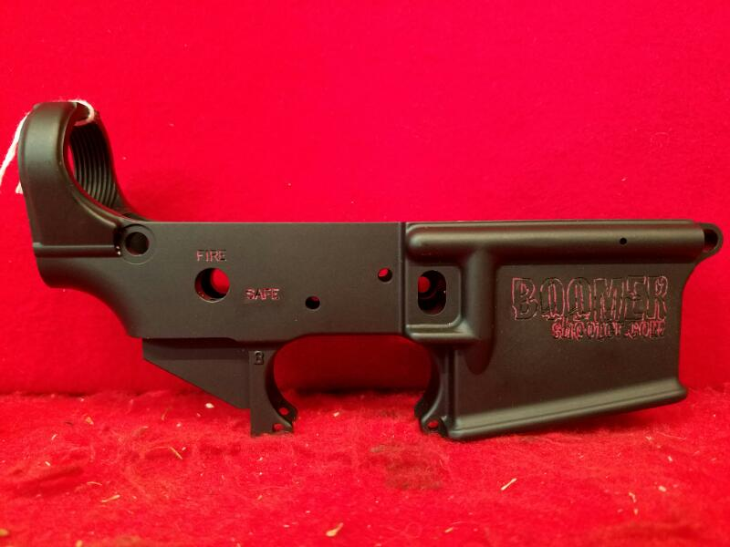 Boomer Shooter Stripped AR Lower Receiver