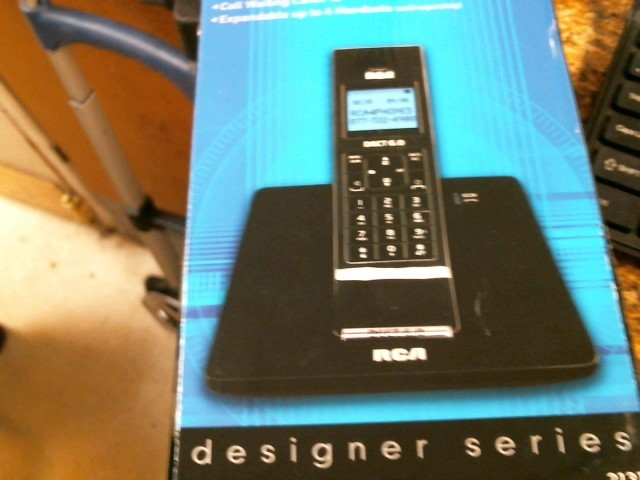 RCA Cell Phone Accessory DECT 6.0
