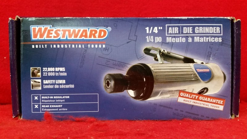 "Westward 1/4"" Air Die Grinder"