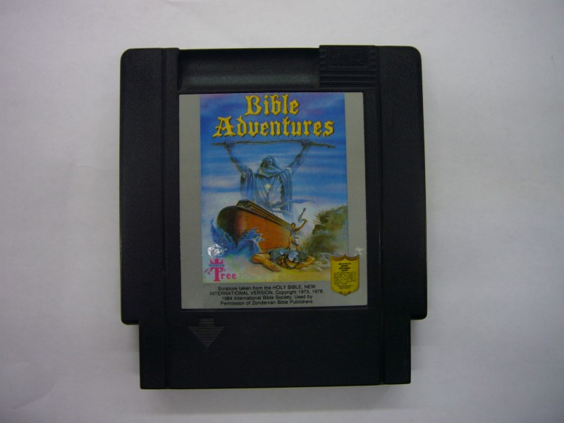 NINTENDO NES Game BIBLE ADVENTURES *CARTRIDGE ONLY*