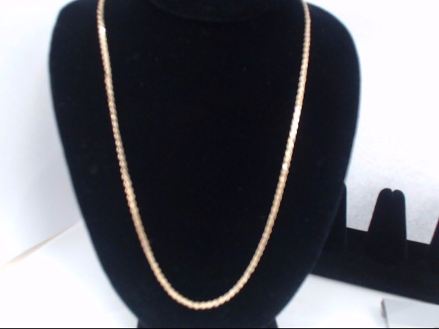 Gold Fashion Chain 10K Yellow Gold 5g