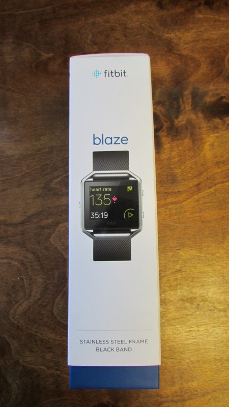 FITBIT BLAZE - SMART FITNESS WATCH