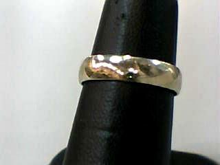 Lady's Gold Wedding Band 10K White Gold 1dwt Size:6