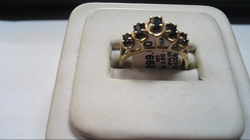 Lady's Stone Ring 10K Yellow Gold Size:7
