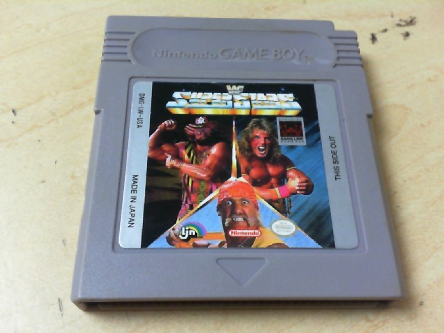 NINTENDO Vintage Game WWE SUPERSTARS