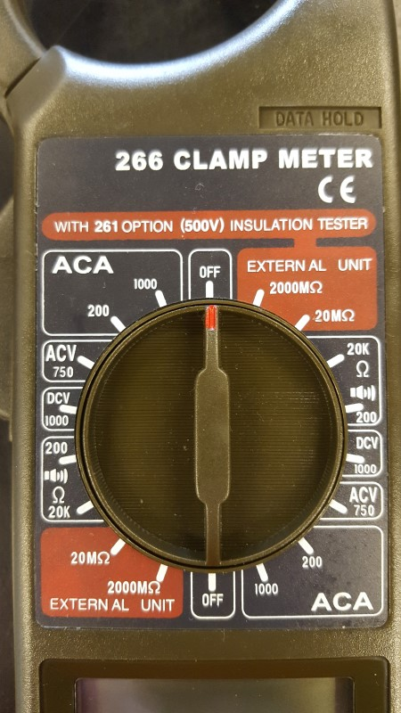 ACTRON Multimeter 266 CLAMP METER