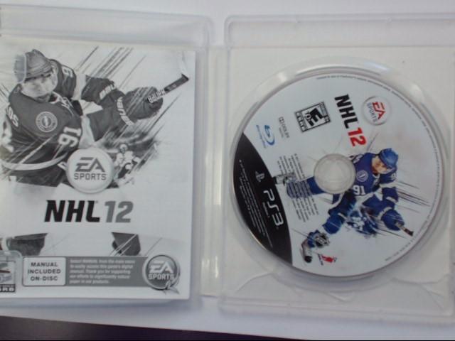 Sony PlayStation 3 Game NHL 12