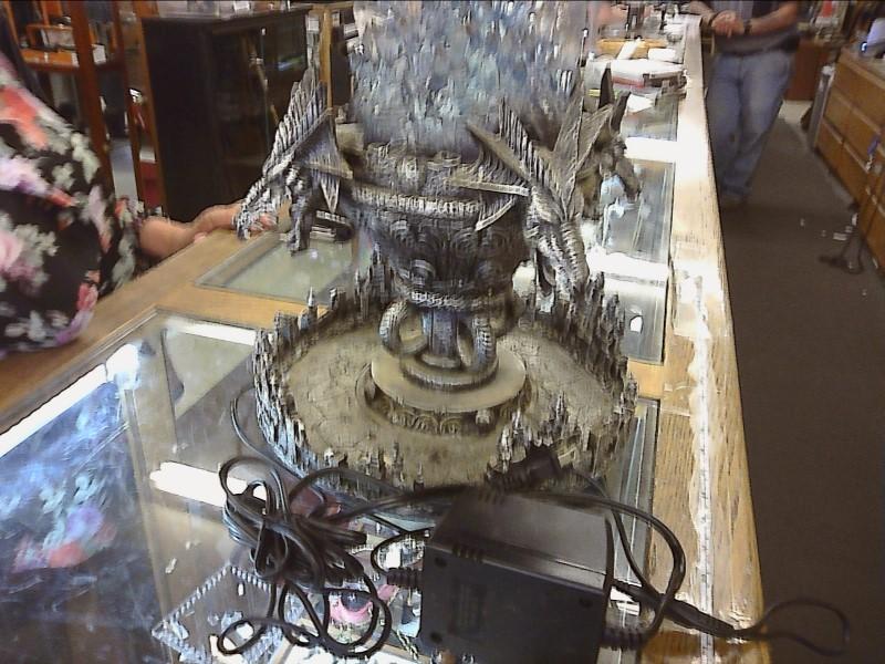 DRAGON Sculpture/Carving FOGGER