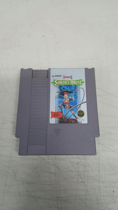 Castlevania II: Simon's Quest (Nintendo Entertainment System, NES, 1988)