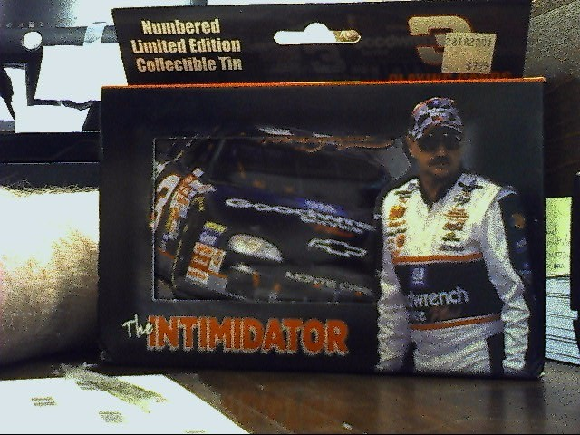 NASCAR Sports Memorabilia THE INTIMIDATOR PLATING CARDS