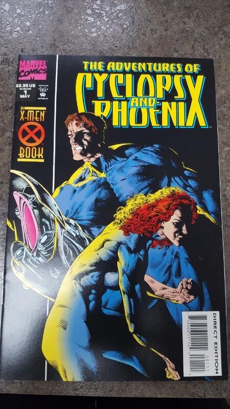 MARVEL COMICS Comic Book THE ADVENTURES OF CYCLOPS AND PHOENIX