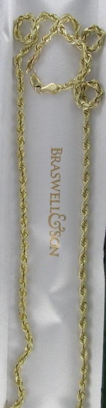 Gold Chain 14K Yellow Gold 10.4dwt