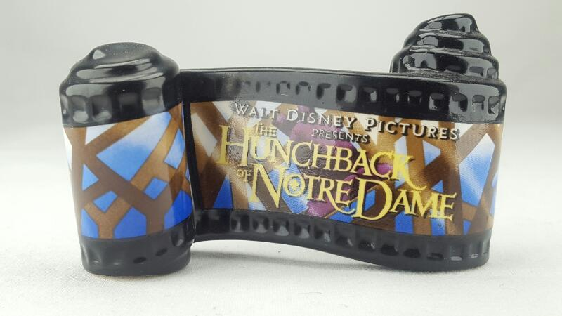 WDCC THE HUNCHBACK OF NOTRE DAME SCROLL
