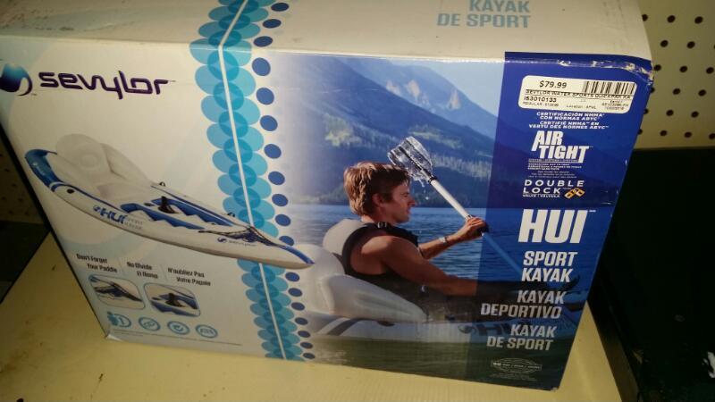 SEVYLOR Water Sports QUICKPAK KAYAK