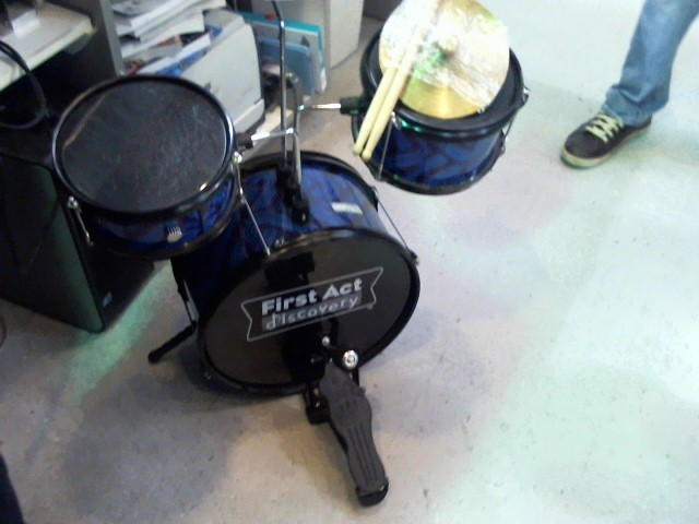 FIRST ACT Drum Set JR DRUMSET
