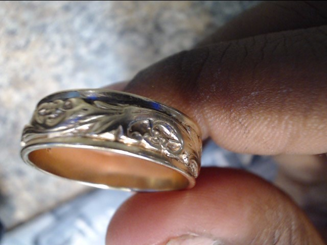 Gent's Gold Wedding Band 10K Yellow Gold 4.1dwt