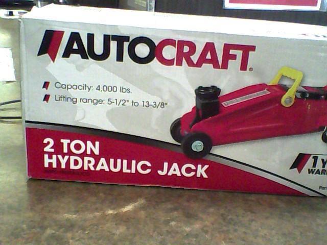 AUTOCRAFT Floor Jack 2 TON HYDRAULIC JACK