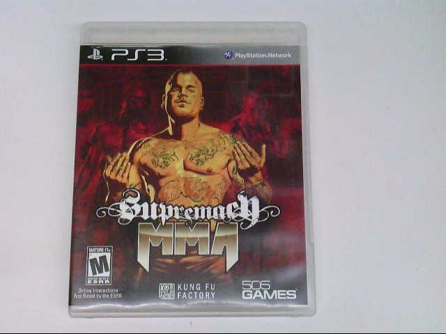 PS3 SUPREMACY MMA