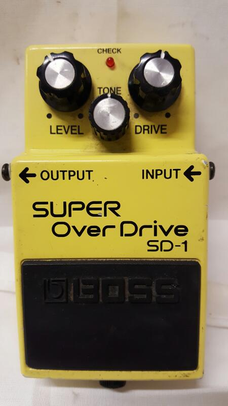 BOSS Effect Equipment SUPER OVERDRIVE SD-1